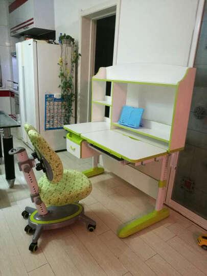 智慧树儿童学习桌椅套装学生书桌可升降带书架写字台