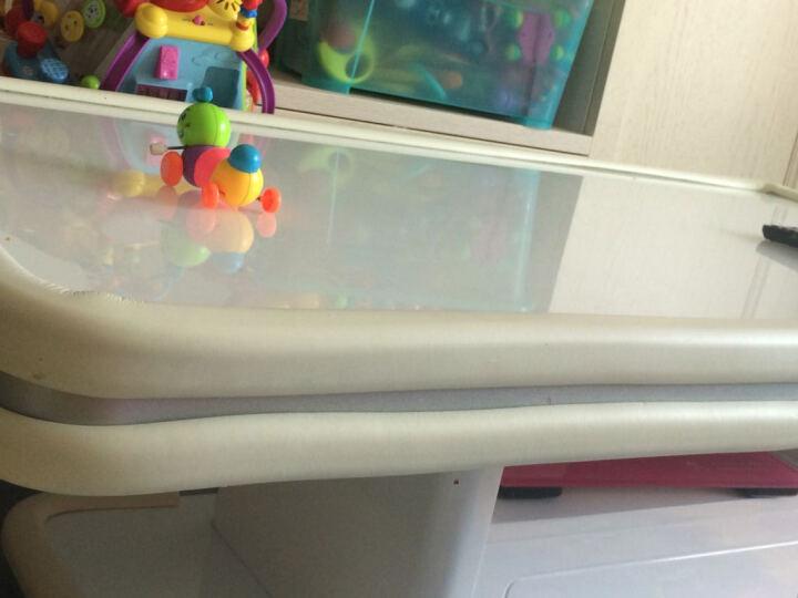 序言(XUYAN) U型加厚儿童防撞条玻璃茶几防护条安全防撞贴玻璃门防撞条 U型条-白色 长2米U形  送4米胶带 晒单图