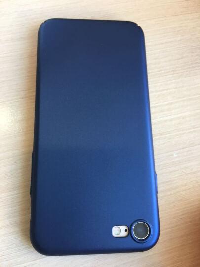锐舞 iPhone7/8手机壳苹果7Plus保护套8P磨砂男女薄防摔全包硬壳个性时尚 4.7英寸-星空黑 晒单图