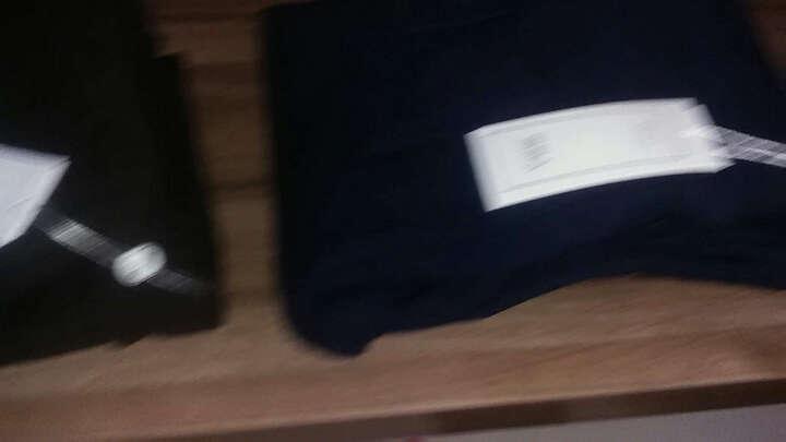 南极人梭织打底裤女外穿前后口袋砂洗小脚裤子女九分DF 纯白色斜口袋 XL 晒单图
