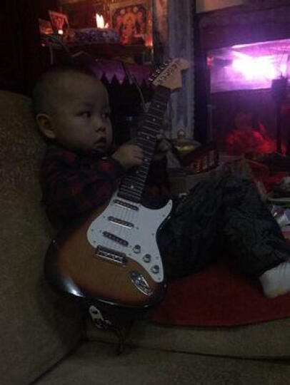 仁达玩具(RD) 儿童电子琴玩具吉他 宝宝益智玩具3-6岁 电吉他可连接手机电脑 晒单图