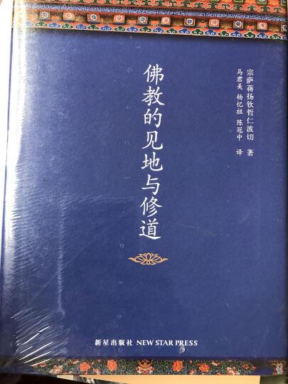 佛教的见地与修道 宗萨蒋扬钦哲仁波切 宗教与术数 书籍 晒单图