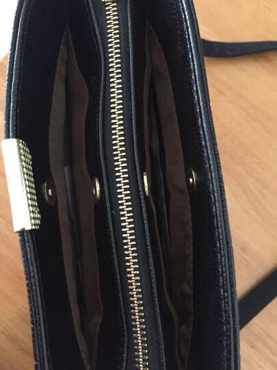 tesidai女士钱包 长款韩版拉链新款女式钱包 女手拿包钱夹手包 咖啡色 晒单图