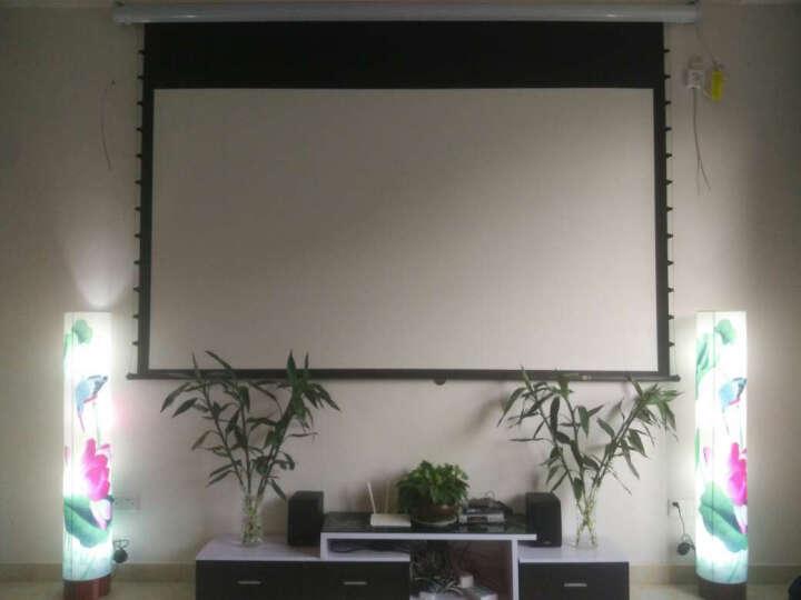 经科(Jing Ke) 经科投影幕布M3-FI/300s 美国进口高清遥控幕幕布16:9 美国进口三代白玻纤+左边电源 经科遥控手柄 晒单图