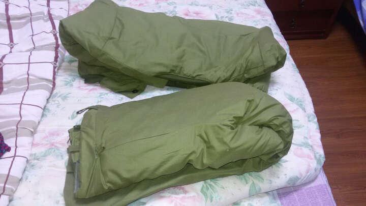 093防水防潮棉袄套装 冷库纯棉花劳保棉袄套装 淡绿 170 晒单图