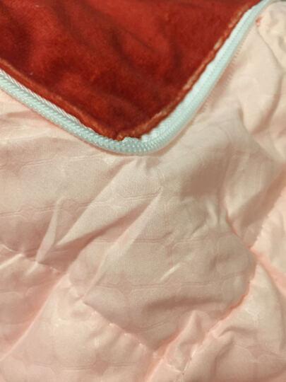 蔓富丽家纺棉麻抱枕被办公午休被沙发汽车便携被子靠垫抱枕被多功能抱枕 小鹿 45cm*45cm 晒单图
