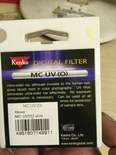 肯高(KENKO) MC UV(O)49mm 滤色镜 晒单图