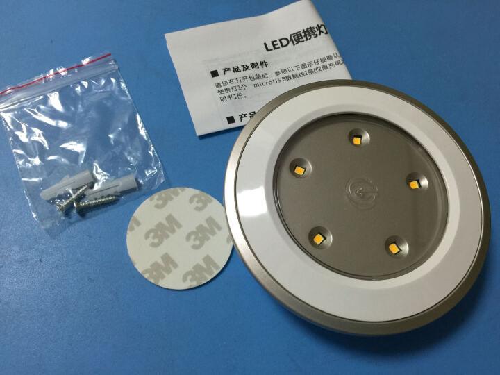 朗美科(Lightmates) CL017 电池节能LED橱柜壁灯小夜灯 暖光款 礼品礼物创意定制节日装饰 晒单图