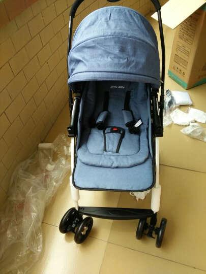 呵宝(HOPE) 婴儿推车轻便婴儿车可坐可躺bb车宝宝推车可折叠 Polo网款-红色 晒单图