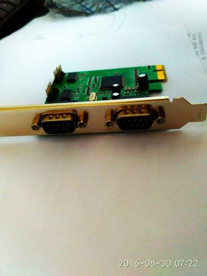 乐扩 PCI-E转4串口卡 4口RS232信号转接卡 COM转换器 供电串口卡  晒单图