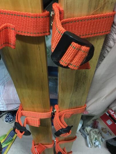 拓展趣味运动会道具协力竞走同舟共济拓展游戏器材木板竞走步步为营 二人板鞋1对 晒单图