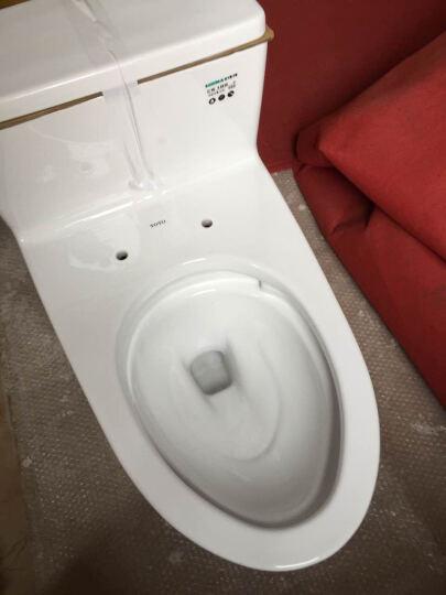 TOTO卫浴坐便器马桶超漩式防堵抽水马桶 CW188B 节水座便器 400坑距缓冲盖 晒单图