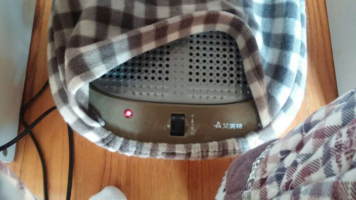 艾美特(Airmate)取暖器/家用电暖器/电暖气 暖脚器HFW1009 晒单图