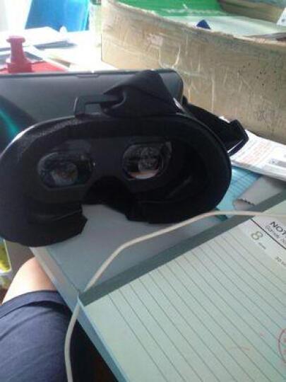聚高虚拟现实VR 眼睛智能手机左右3D vr眼镜头戴式游戏头盔影院送3d资源 高清魔镜+游戏手柄 晒单图