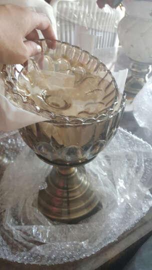 欧式果盘水晶玻璃装饰品大果盘家居摆设创意水果盘摆件 海螺果盘 晒单图