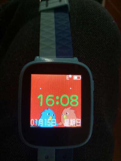 【货到付款】柒客儿童电话手表学生触屏360度智能定位手表手机防水 电信款-粉色(信号增强+大彩屏非触屏+生活防水) 晒单图