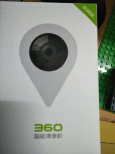 360智能摄像机夜视版 D503 小水滴 WiFi网络 高清摄像头 远程监控 哑白 晒单图