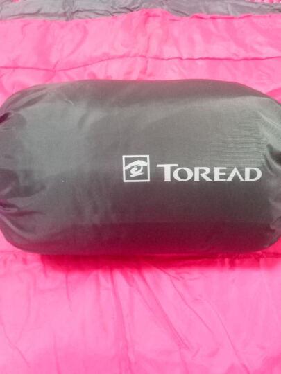 探路者(TOREAD) 探路者户外装备信封式打开可做被褥填充220g棉睡袋 806-湖蓝/铁蓝灰 晒单图