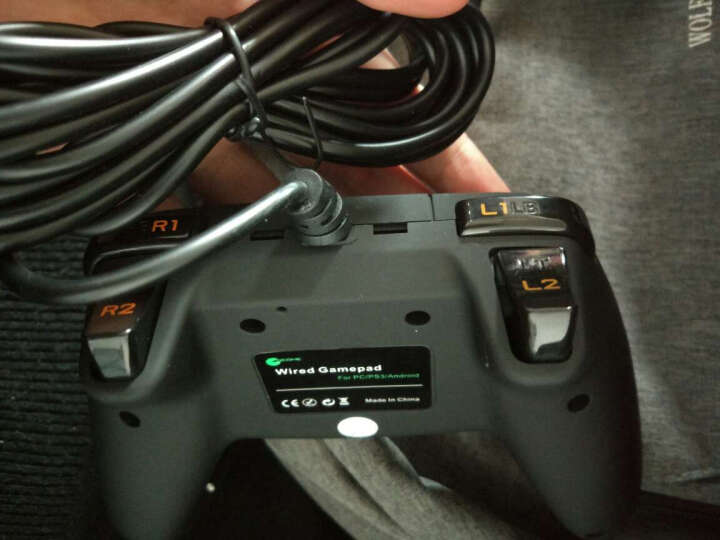 趣迷(QEOME) USB电脑游戏手柄 PC360 steam手柄 GTA侠盗猎车手实况 银色 晒单图