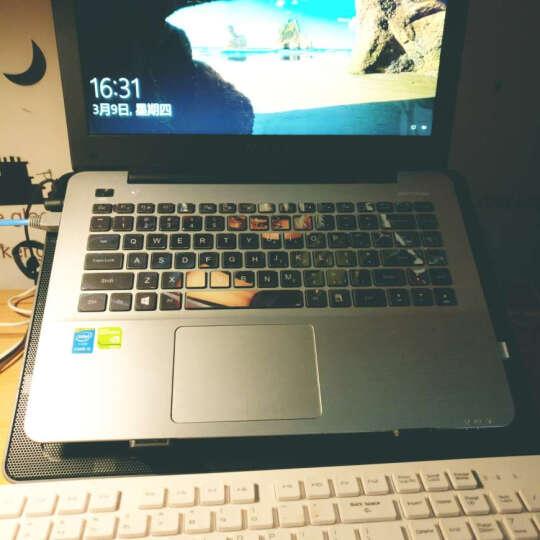 九州风神(DEEPCOOL)U PAL 笔记本散热器(电脑配件/支架/散热架/散热垫/适用于15.6英寸) 晒单图