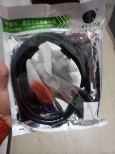 HD-LINK DVI 18+1 DVI线 DVI-D高清线 电脑接显示器投影仪 单通道线 黑色 1.5米 晒单图