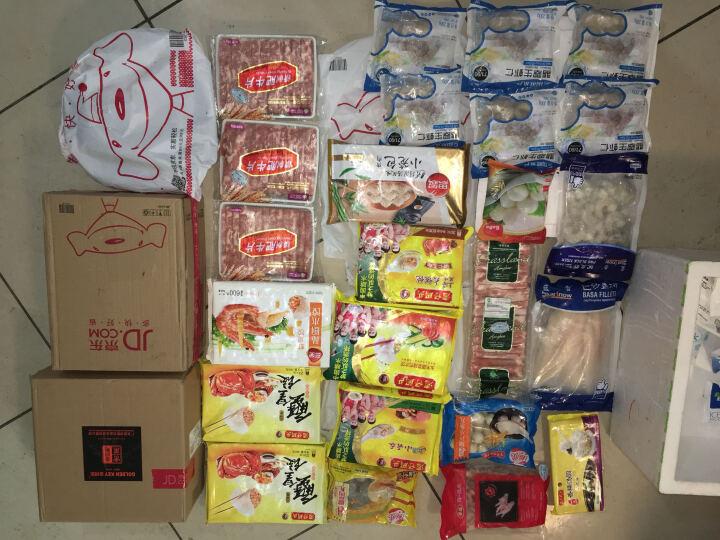 蓝雪 冷冻越南黑虎虾仁 草虾 300g 16-21只 袋装 海鲜水产 晒单图