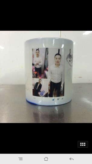 益好 生日礼物情侣变色杯子马克水杯 照片定制创意礼品送男女友朋友情人节礼物 蓝色亮面 变色杯 晒单图