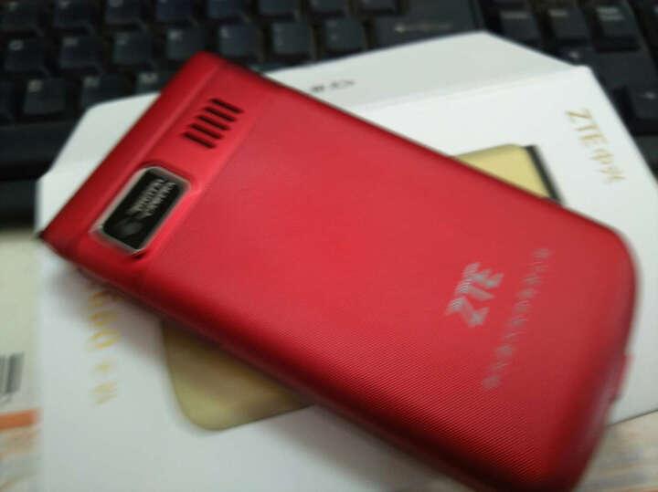 守护宝 上海中兴 ZTE tech   L660 翻盖老人手机 红色 移动/联通版 晒单图