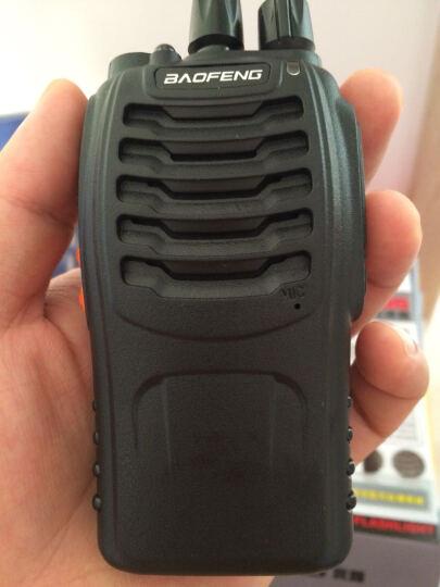 宝锋(BAOFENG) 宝锋BF-888S对讲机 民用商用5w手台军用迷你微型自驾游大功 单机标配 晒单图