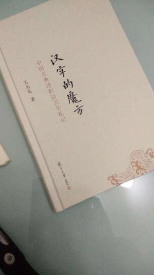 汉字的魔方-中国古典诗歌语言学札记 晒单图