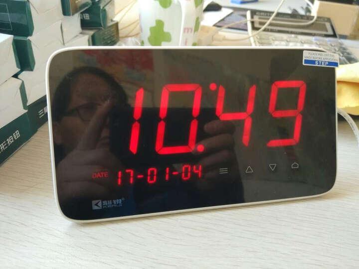 刻锐(KERUI)C1无线呼叫器 智能排队取餐机适用餐厅茶楼酒吧咖啡厅服务铃棋牌室医院楼层 带25个汉堡式按钮 晒单图