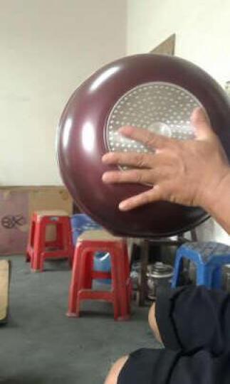 九阳(Joyoung)30cm炒锅不粘锅少油烟燃气煤气电磁炉通用锅具赠木铲CLB3031D 晒单图