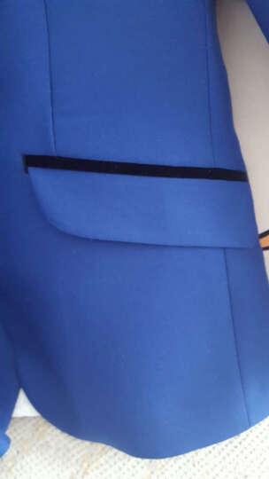 ELPA 儿童礼服套装男童小西装外套中大童花童礼服演出服英伦风西服套装春夏秋韩版 黑色5件套:外套+马甲+裤子+衬衫+领结 140码 身高130-140cm 体重61-69斤 晒单图