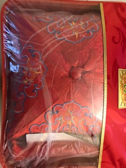 【淘艾阁婚庆馆】全棉婚庆四件套大红  结婚床上用品婚庆套件 皇家舞曲八件套床盖式 加大号220*240被套 晒单图