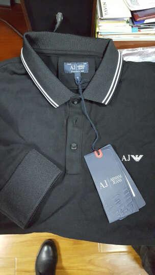 ARMANI JEANS阿玛尼男士红色棉质长袖POLO衫8N6F366JPTZ 1454 L码 晒单图