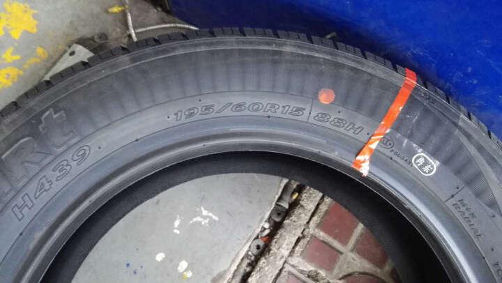 (Hankook)全新正品韩泰轮胎 汽车轮胎 H439 包安装 185/65R15 日产骊威阳光MG3长城C30 晒单图