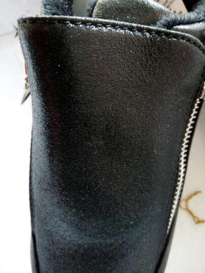 艾朵乐2017新款韩版春夏季平底女鞋运动休闲鞋网面旅游松糕鞋 灰色-网面 38 晒单图
