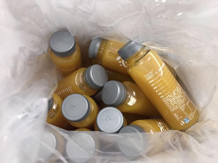 freshday Freshday鲜榨果蔬汁果汁饮料 黄甜椒枇杷混合汁255ml*12瓶 晒单图
