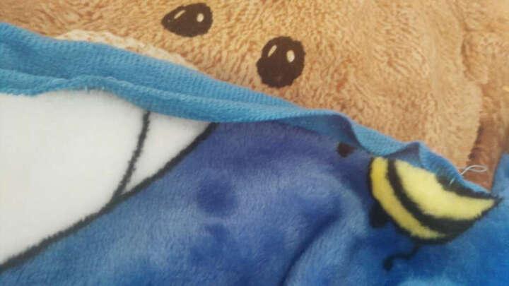 天池茗品毛毯被夏季加厚珊瑚绒毯子薄垫床单人双人盖毯办公室夏学生小儿童毛毯垫四季夏天 时尚格调 150*200cm加厚款380克/平方 晒单图