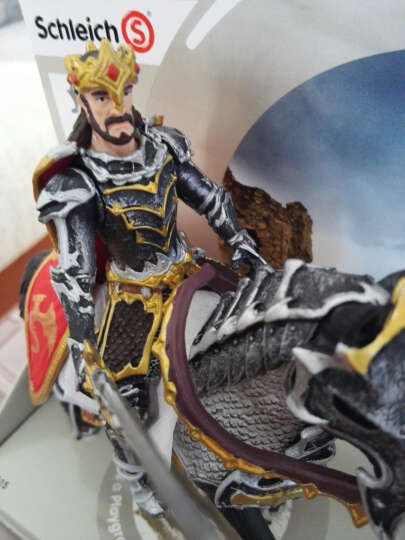 思乐(Schleich S) 仿真恐龙模型玩具塑胶模型恐龙骑士系列 70111 狮鹫骑士弓箭射手 晒单图