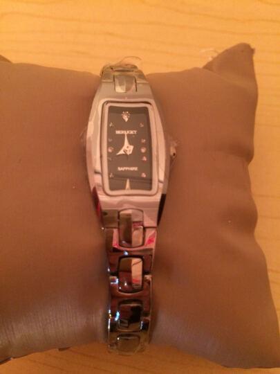 宝丽爵(BERLIGET)女士手表 时尚超薄防水石英表 手表女表钨钢手链表  品牌自营 玫瑰金80159 晒单图