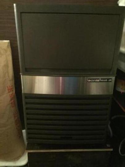 乐创(lecon) 商用制冰机方块制冰机大型制冰机全自动制冰机奶茶店酒吧KTV 55KG不锈钢制冰机 晒单图