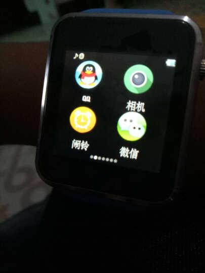 【送内存卡】妙弦 儿童电话手表智能手表手机插卡通话触屏定位电话手表学生 典雅黑三代学习版(定位+拍照+16G卡) 晒单图