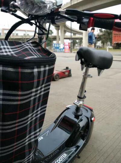恺亨(KHENG)1403-2代驾电动滑板车儿童迷你折叠车都市小巧女士自行车街车代步车电车 晒单图