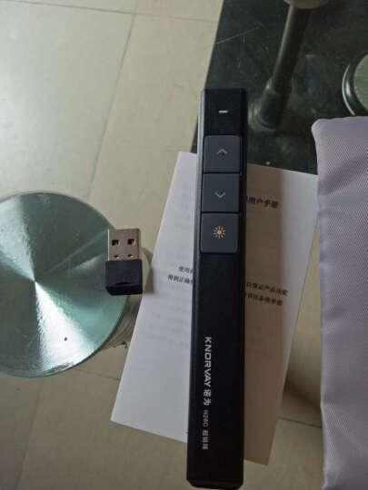 诺为(KNORVAY)N26C升级版PPT激光翻页笔遥控笔投影笔电子教鞭手持无线幻灯片演示笔 (白色升级版)  远控100米 晒单图