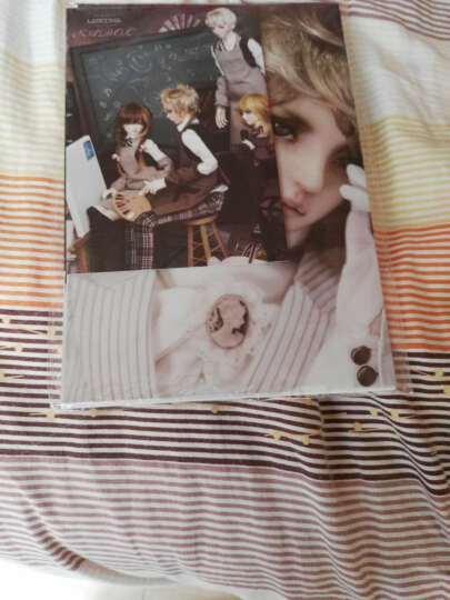 BJD娃娃的秘密(赠:韩国娃社sadol礼包8k海报+明信片6张,附赠BJD娃娃连衣裙、草帽纸样) 晒单图