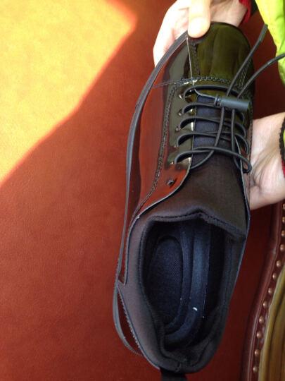 SexeMara板鞋学生秋冬季新品休闲帆布鞋男生鞋子男韩版潮流小白鞋青少年百搭透气精神小伙 亮皮黑 41 晒单图