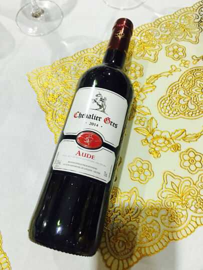 VB酒庄 骑士格雷干红葡萄酒 双支装 晒单图