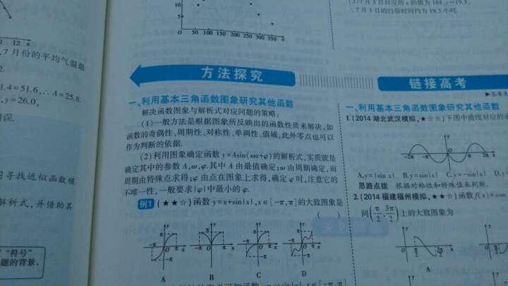 高中数学 必修4 RJ-A(人教A版)高中同步新课标 5年高考3年模拟(2017) 晒单图
