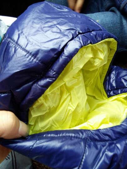 优比小熊 童装 男童棉服 儿童羽绒服连帽外套 2016新款韩版童装宝宝冬装棉衣 蓝色 110cm吊牌9建议身高110左右 晒单图